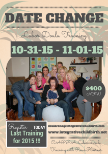 CAPPA Labor Doula Training with Rená Koerner @ The Lullaby Lounge (near Long Beach CA)